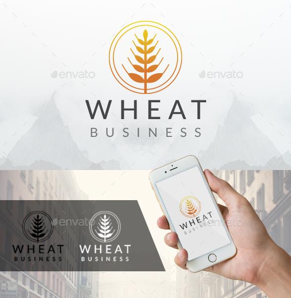 Circular Wheat Logo