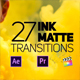 27 Ink Matte Transitions - VideoHive Item for Sale
