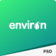 ENVIRON – Non-profit and Environment PSD Template - ThemeForest Item for Sale