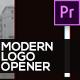 Modern Logo Opener - VideoHive Item for Sale