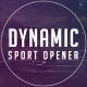 Dynamic Sport Opener - VideoHive Item for Sale