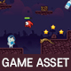 Space Cat Game Asset Tileset - GraphicRiver Item for Sale