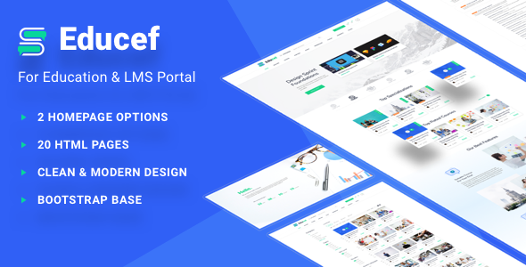 Educef - LMS HTML Template