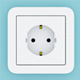 Wall switches and sockets - 3DOcean Item for Sale