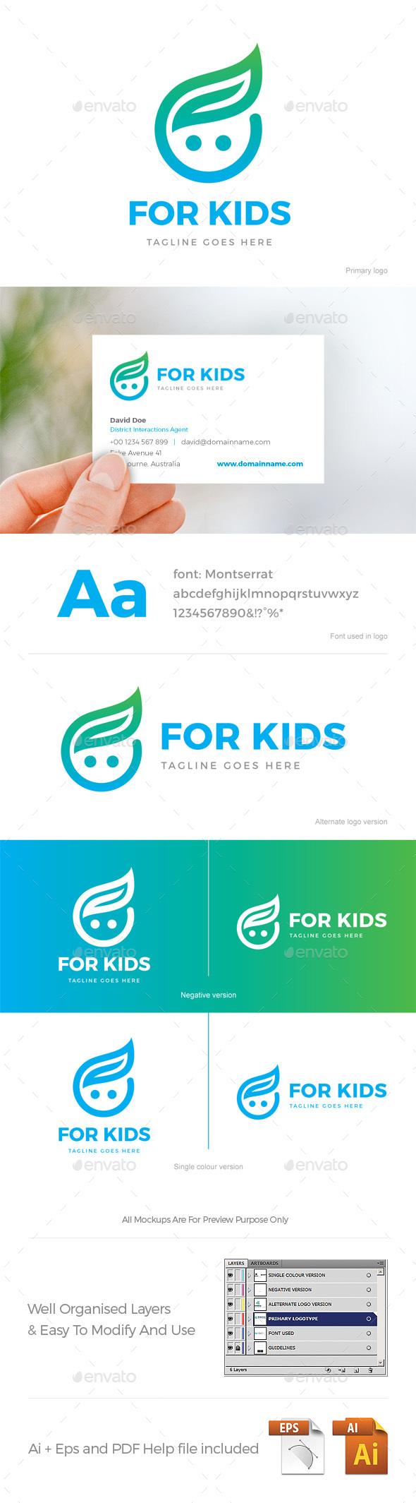 For Kids Logo