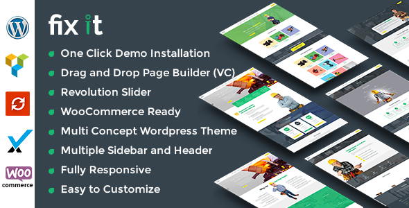 Fixit Construction - WordPress Theme