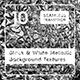 Black & White Metallic Textures - 3DOcean Item for Sale