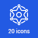 20 Wild West Icons - GraphicRiver Item for Sale