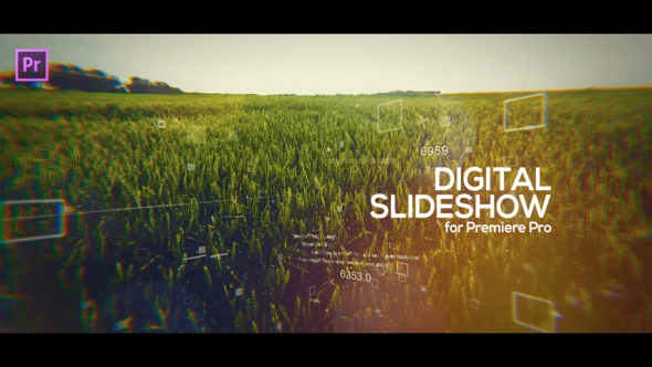 Digital Slideshow for Premiere Pro