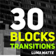 30 Tech Matte Transitions - VideoHive Item for Sale