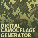 Digital Camouflage Generator - GraphicRiver Item for Sale