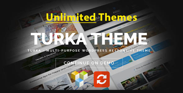 Turka – Multi-Purpose WordPress Theme Free Download