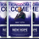 Kingdom Come Church Flyer Template - GraphicRiver Item for Sale