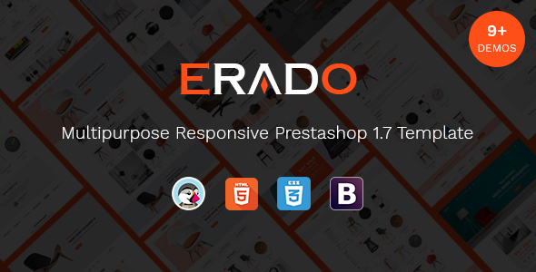 Erado - Unique Design Responsive Prestashop Theme