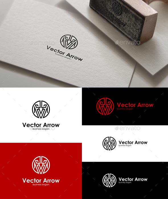 Vector Arrow Logo