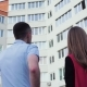 The Realtor Shows an Apartment. A Man Buys an Apartment in a New House. A Man Chooses an Apartment - VideoHive Item for Sale