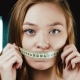 The Woman Is Losing Weight. He Does Not Eat Anything. I've Gotten My Mouth Shut - VideoHive Item for Sale