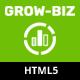 Grow-Biz – Business & Multipurpose Responsive OnePage HTML Template