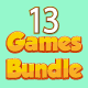 Bundle N°1 : 13 HTML5 GAMES - For Web & Mobile + AdMob (CAPX, C3p and HTML5) - CodeCanyon Item for Sale