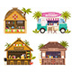 Beach Juice Bars and Restaurants Collection - GraphicRiver Item for Sale