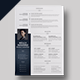 Word Cv/Resume Template - KELLY - - GraphicRiver Item for Sale