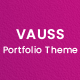 VAUSS - Portfolio and Personal Services WordPress Theme - ThemeForest Item for Sale