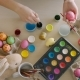 Artist Paints a Rabbit on an Easter Egg - VideoHive Item for Sale