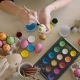 Woman's Hands Painting Easter Eggs - VideoHive Item for Sale
