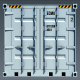 Cargo Container With UV - 3DOcean Item for Sale