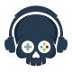 Skull Game Logo - GraphicRiver Item for Sale