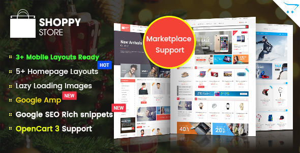 Clean OpenCart Themes from ThemeForest