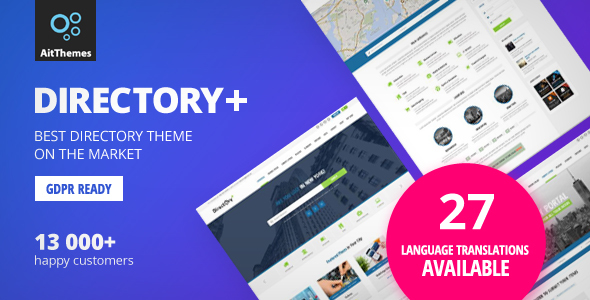 Directory+ - WordPress Directory Theme