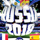 Russia 2018 Flyer Template PSD - GraphicRiver Item for Sale