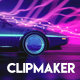 Clipmaker Studio 1.0 with Audio React Spectrum Visualizer & Background Creator - VideoHive Item for Sale