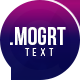 Kinetic Typography Suite   MOGRT - VideoHive Item for Sale