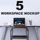 Workspace Mockups - GraphicRiver Item for Sale