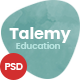 Talemy | Multipurpose Education PSD Template - ThemeForest Item for Sale