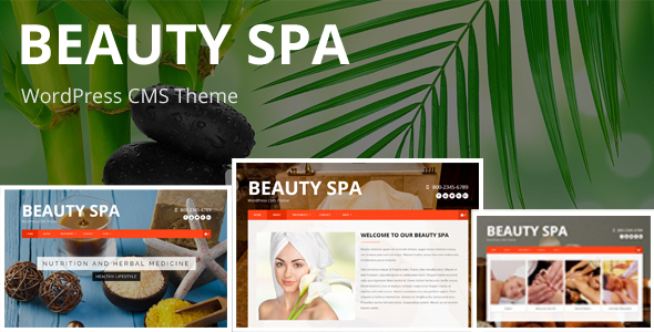 Beauty SPA - Creative WordPress  CMS Theme