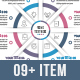 Business Circle Infographics (03 to 08 Steps) - GraphicRiver Item for Sale