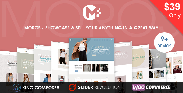 Moros - eCommerce WordPress Theme