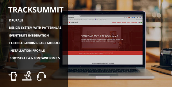 Tracksummit - Drupal 8 Conference & Events