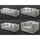 Collection 1: beige sofas - 3DOcean Item for Sale