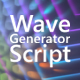 Background Wave Generator - VideoHive Item for Sale