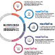 Simple Circle Infographics - GraphicRiver Item for Sale