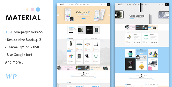 Review: Material - Electronics WooCommerce WordPress Theme free download Review: Material - Electronics WooCommerce WordPress Theme nulled Review: Material - Electronics WooCommerce WordPress Theme