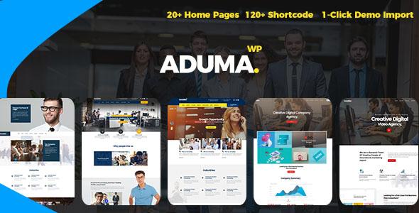 Aduma - Consulting, Finance WordPress Theme