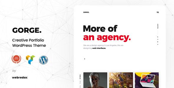 Gorge - Portfolio WordPress Theme