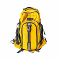 Yellow backpack isolated on white - PhotoDune Item for Sale