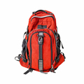 Red backpack isolated on white - PhotoDune Item for Sale