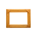 Wooden Photo Frame isolated on white - PhotoDune Item for Sale